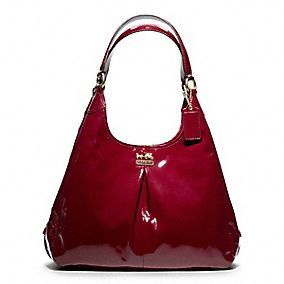 The Coach Madison Patent Maggie