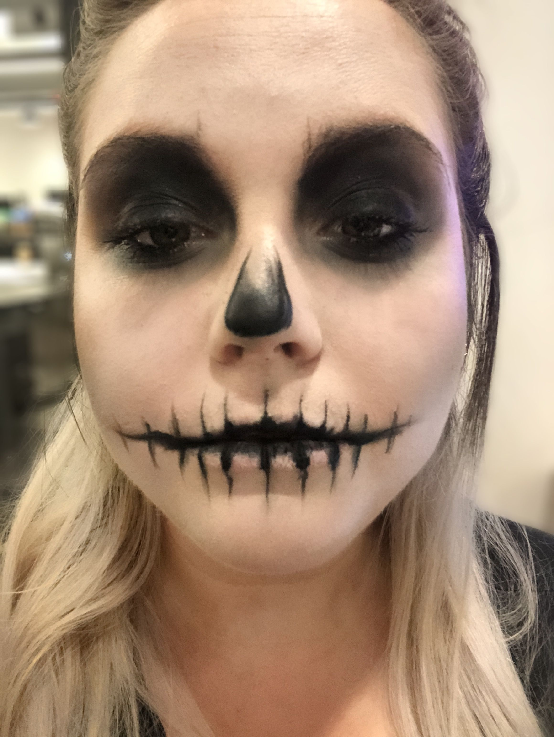 31 Scary Halloween Makeup For Guys Skelet makeup, Make