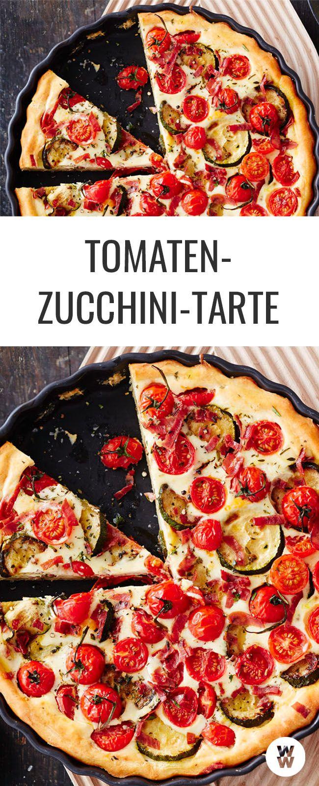 Photo of Tomato zucchini tart