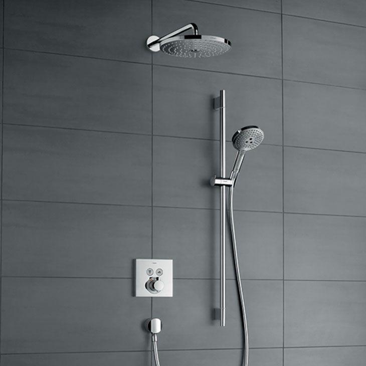 N bathroom pinterest shower - Hansgrohe shower rail ...