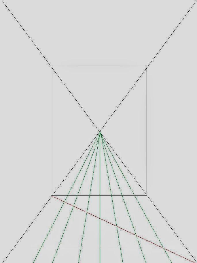 cara menggambar ruangan dengan satu titik perspektif  u2013 ide