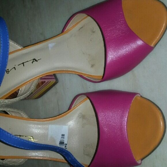 Good color sandals Pink sandals Shoes Sandals
