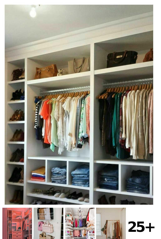 25 Simple Bedroom Closet Ideas In 2020 Ankleide Zimmer Ankleidezimmer Design Design Fur Zuhause