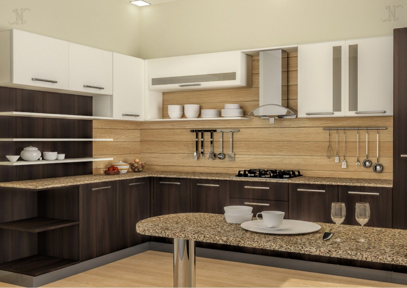 Cortesa l shape modular kitchen ideas for the house - L shaped modular kitchen designs catalogue ...