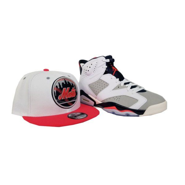 bdf58d9197e5a Matching New Era New York Mets Snapback Hat for Jordan 6 Tinker ...
