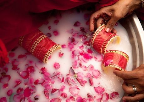 Wedding Is Undoubtedly One Of The Most Beautiful And Memorable Day A Couples Life This Auspicious Event Not Only Brings Two Souls Tog Chuda Ceremony