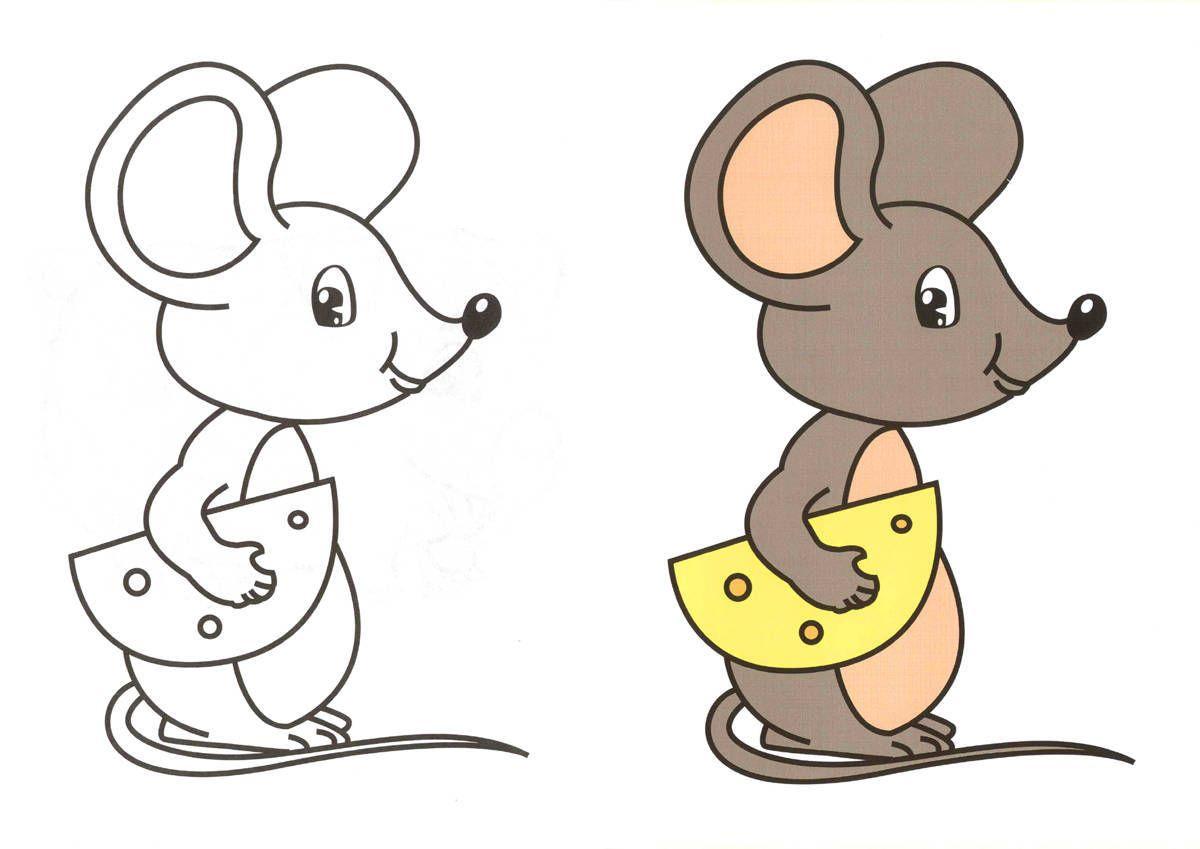 Картинка при помощи мышки