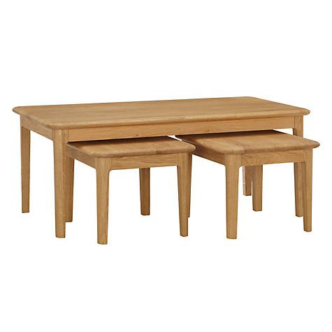 Excellent Buy John Lewis Harmony Coffee Table Nest Of 3 Tables Online Andrewgaddart Wooden Chair Designs For Living Room Andrewgaddartcom