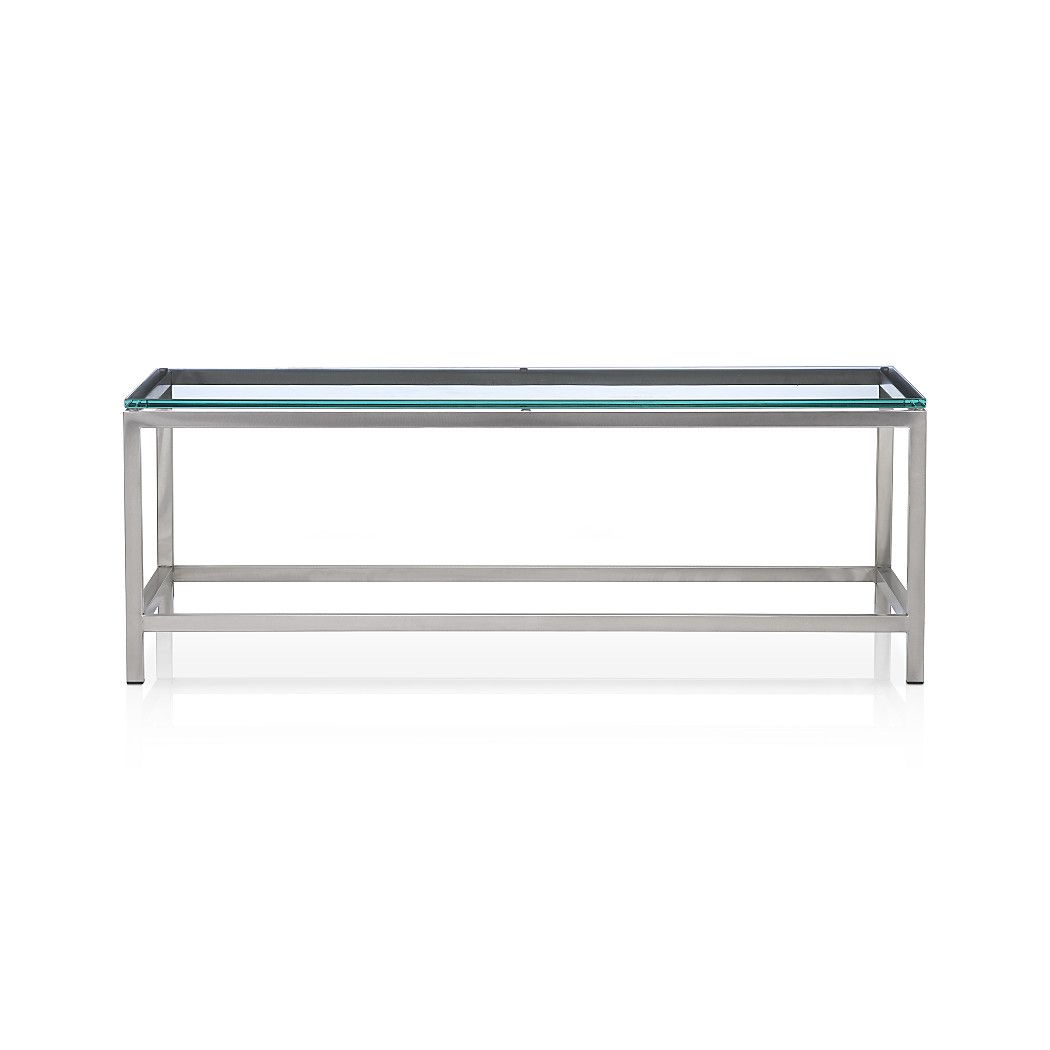 Era Rectangular Glass Coffee Table Rectangular Glass Coffee Table Coffee Table Crate And Barrel Barrel Coffee Table [ 1050 x 1050 Pixel ]