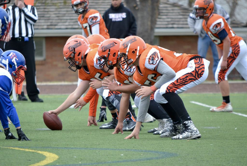 J.V. Football game against Fountain Football games
