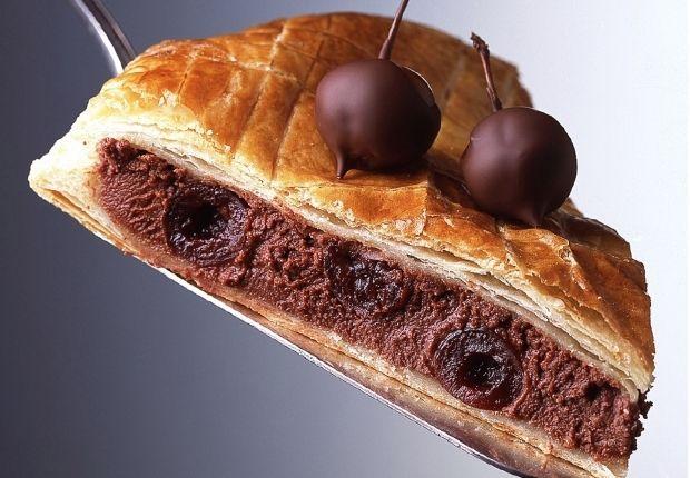 Galette des Rois chocolat griottines