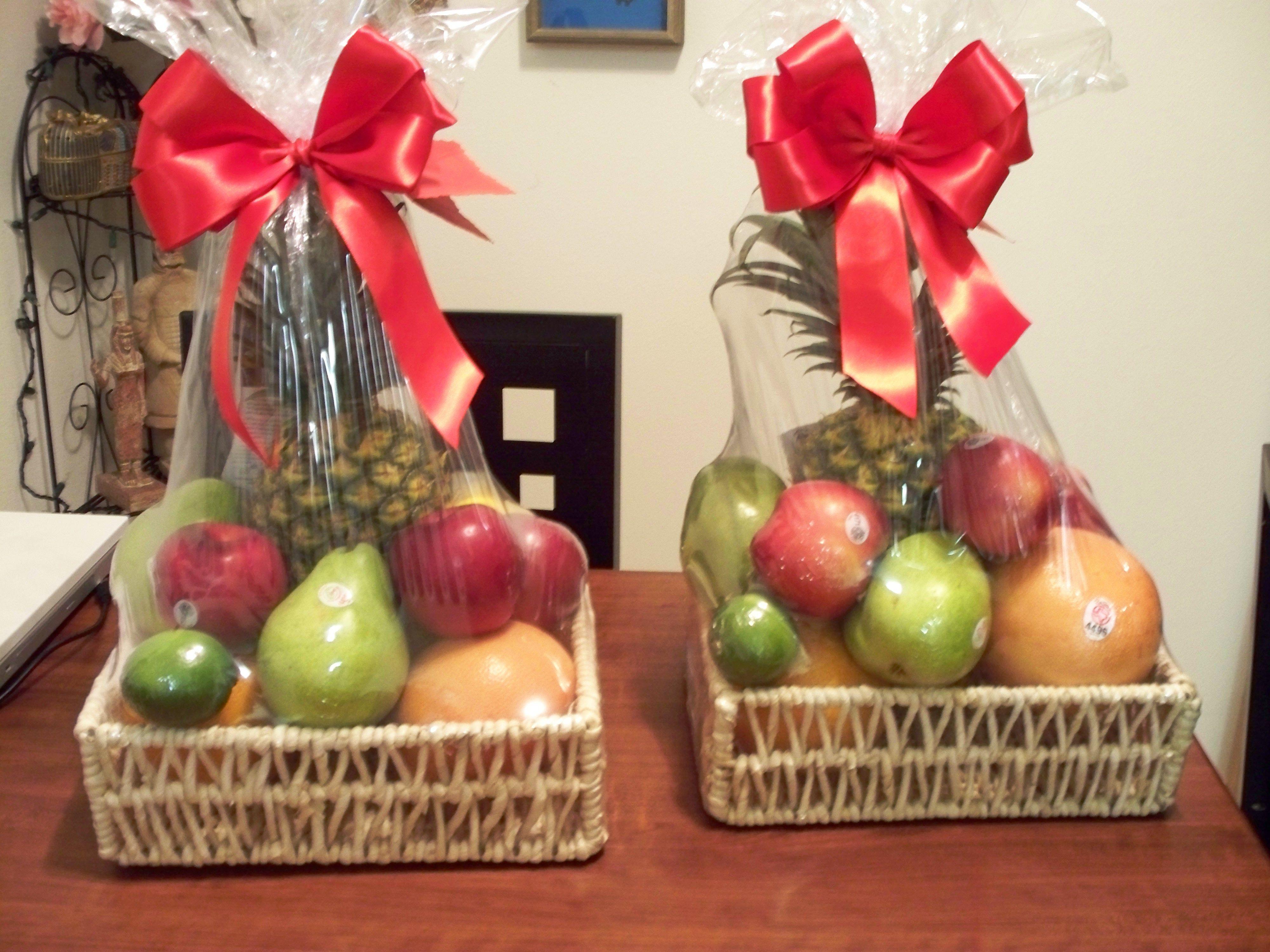 Fruit Baskets Cestas De Frutas De Regalo Canasta De Frutas Arreglos De Frutas