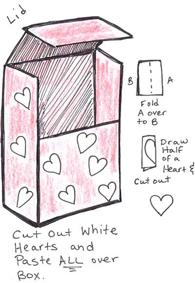 How to Make Valentines Day Mailbox Backpack with Cereal Boxes « Bags u0026 Purses Crafts «  sc 1 st  Pinterest & How to Make Valentines Day Mailbox Backpack with Cereal Boxes ... Aboutintivar.Com