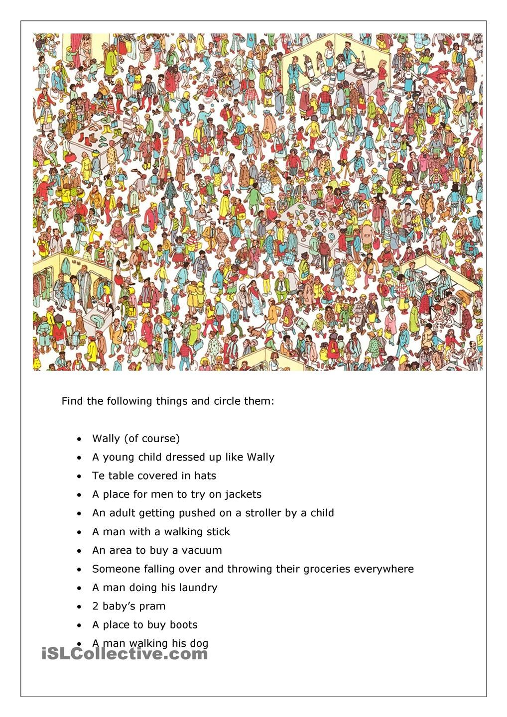 Terrible image intended for where's waldo printable