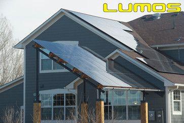 Lumos Lsx Patio Awnings Solar Canopy Traditional Exterior Denver Lumos Solar Solar Power House Residential Solar Solar Energy Diy