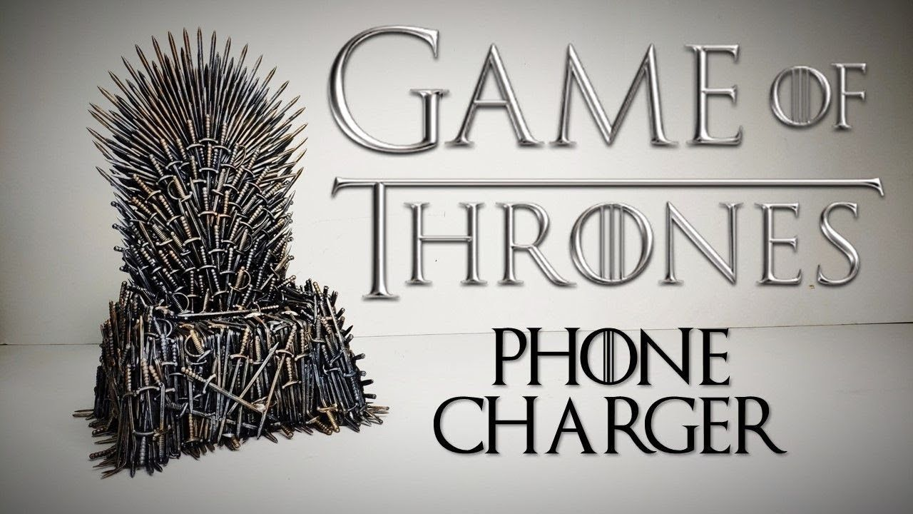 Iron Throne Phone Charger Tutorial Artedaniel Phone Charger