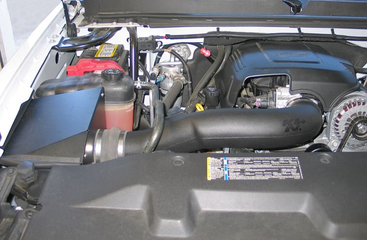 Uncomplicated Performance Upgrades For Chevrolet Silverado 1500 Pickup Trucks Cold Air Intake K N Reusable Air Filter