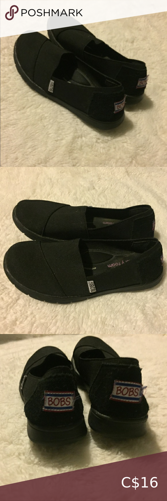 I just added this listing on Poshmark Lookalike Toms black Size 6