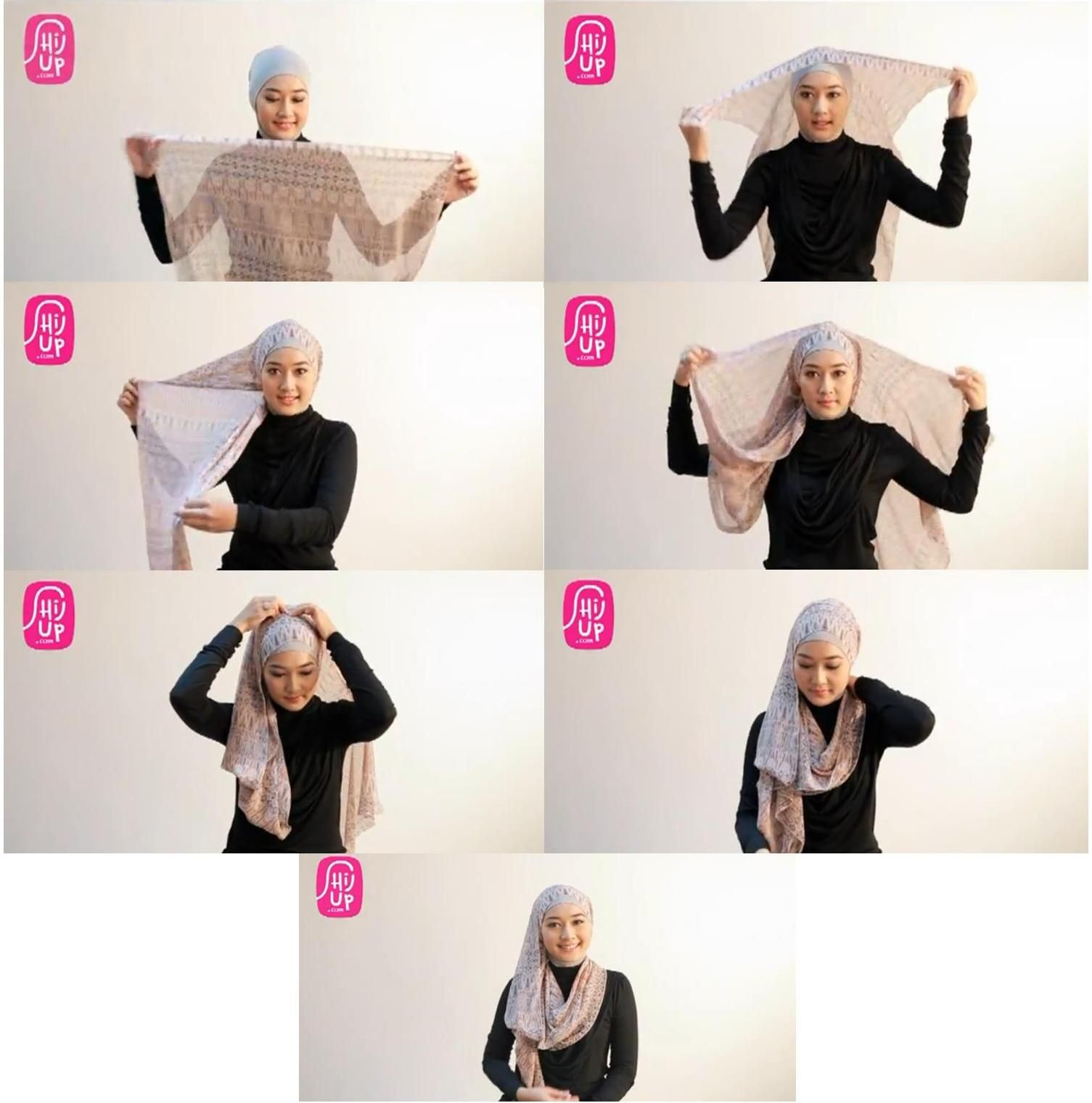 Pin By Karina Puspita On Hijab Tutorials Pinterest