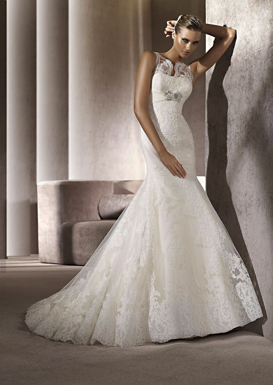 Stunning wedding fashion image Touch Of Class Bridal offers the latest wedding dress alterations