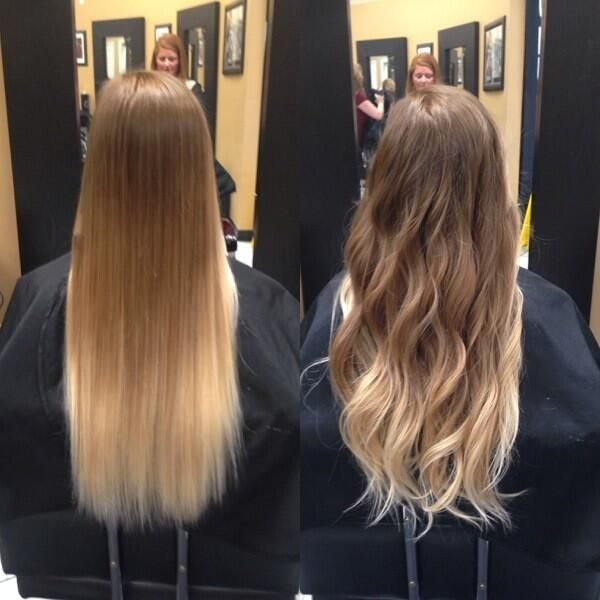 Best Hairstyles ღ On Straight Ombre Hair Hair Styles Blonde Ombre