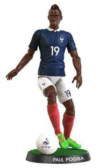 Fff Paul Pogba Action Figure 15cm Manufacturer Promoworld Europe Barcode 3700570301251 Enarxis Code 019277 Toys Figures Action Figures Soccer Figures
