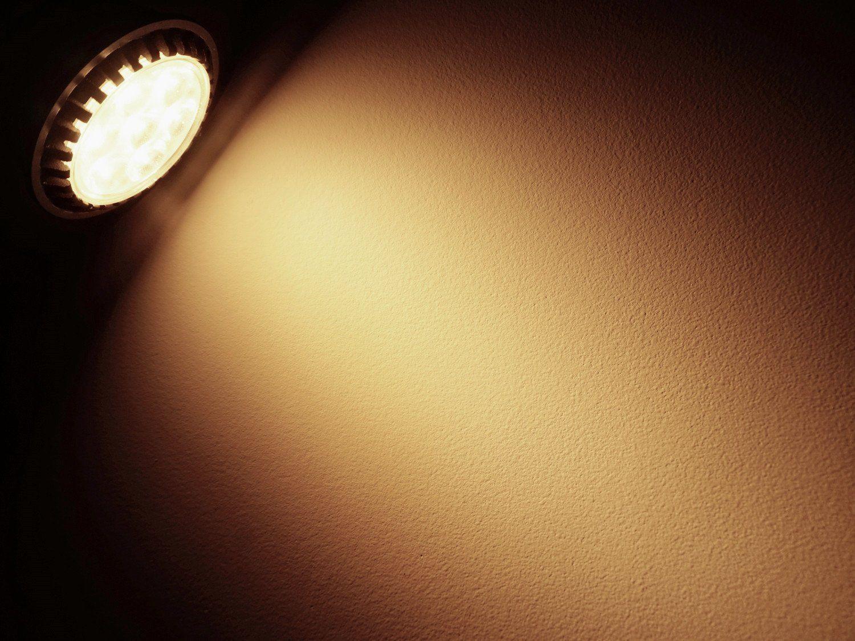 Bonlux 5w Medium Screw E26 Base Led Light Bulb 50w Halogen Bulbs Equivalent 120v Warm White 3000k 45 Beam Angle E26 Le Light Bulb Led Spotlight Led Light Bulb