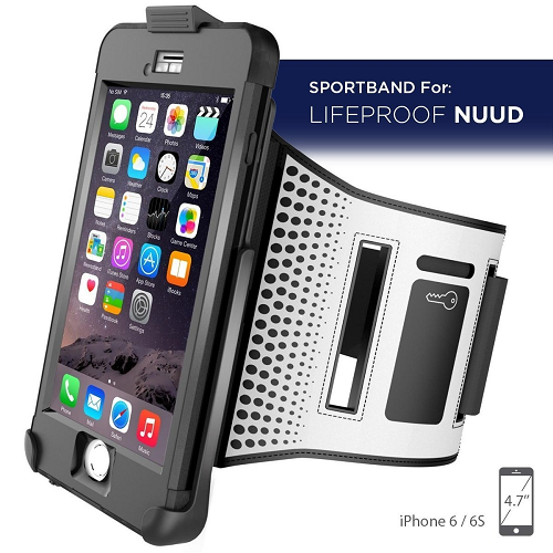 huge selection of 87435 3a52e Workout Armband for LifeProof Nuud Case - iPhone 6 6S 4.7' (case not ...