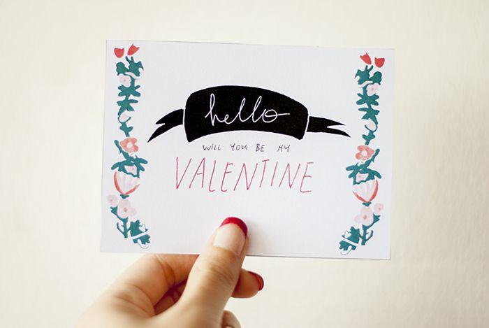 Printable Valentines | hej juni