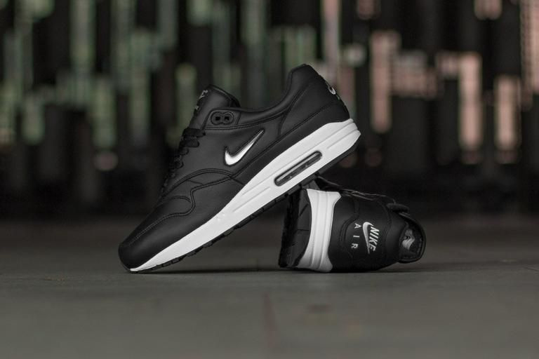 reputable site 90d8f 6161d Premium has never been so premium! These Air Max 1 feature the iconic Jewel  swoosh on the flanks in a clean Metallic Silver  Chrome  which creates a ...
