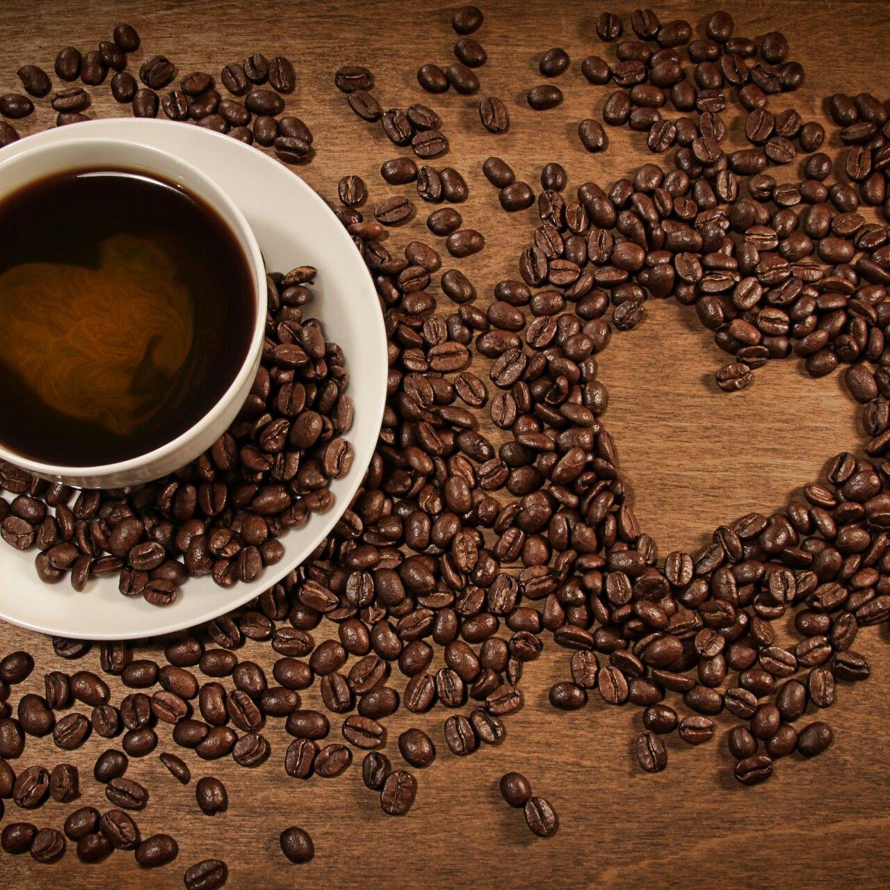 Открытки с черным кофе могут служить
