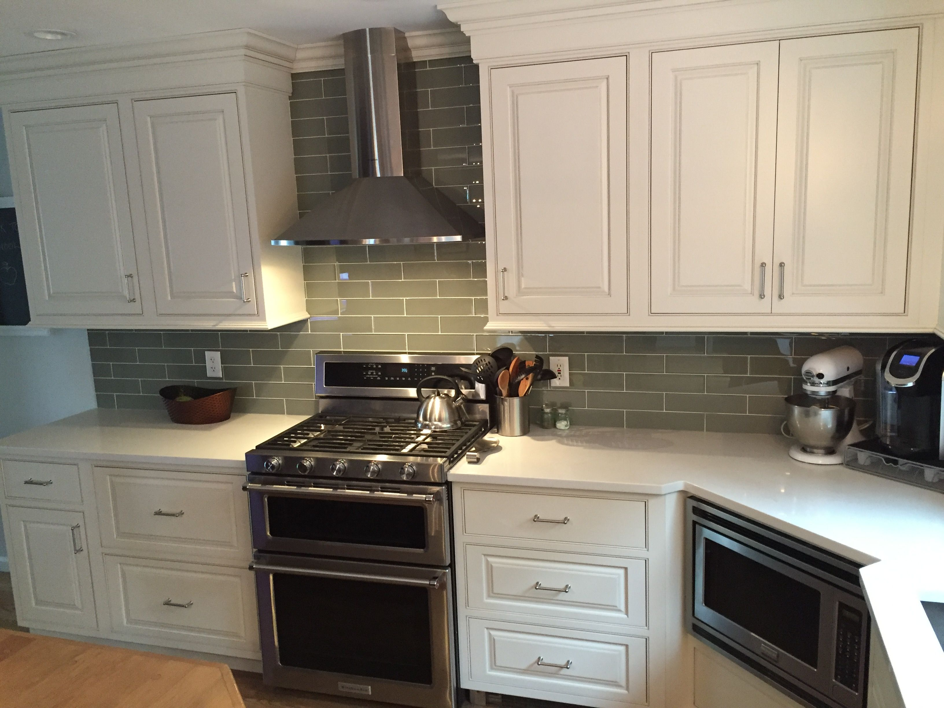 Kitchen remodel - Shiloh beaded inset cabinets, Faber ...