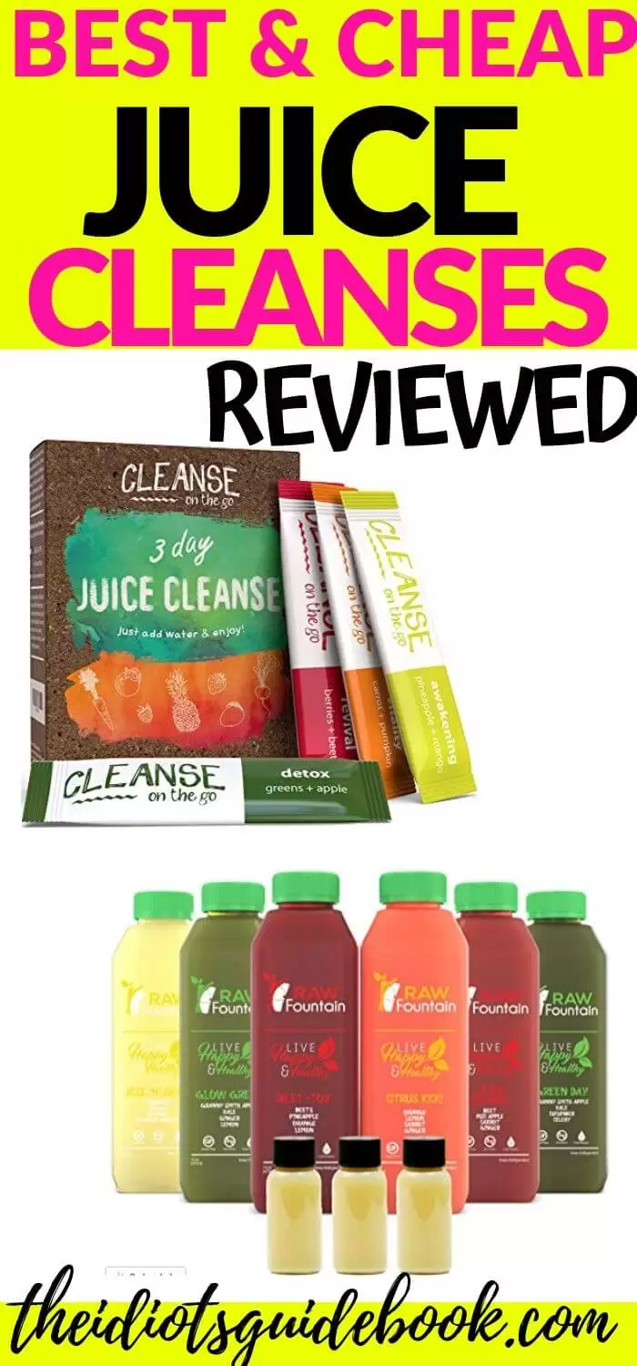Best & Cheap Juice Cleanses (Review Of Top 3)