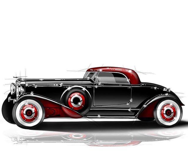 #DuesenbergDesignChallenge entry by Federico Dalai (@indi.dsgn)  #cardesign #duesey #challenge #cardesigner #automotivedesign #transportdesign #vehicledesign #vision #instacar #caroftheday #carsofinstagram #cargram #autodesign #carstyling #freehand #sketch #sketchbook #wacom #cintiq #black #red #vintage #retro #luxurycar #hotrods #custom #pebblebeach #concours @formtrends @cardesign.ru @cardesigndaily @motivezine @cardesignsketch
