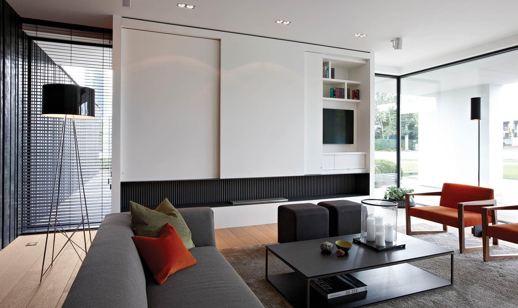 moderne gezellige woonkamer - Google zoeken | Woonkamer ...