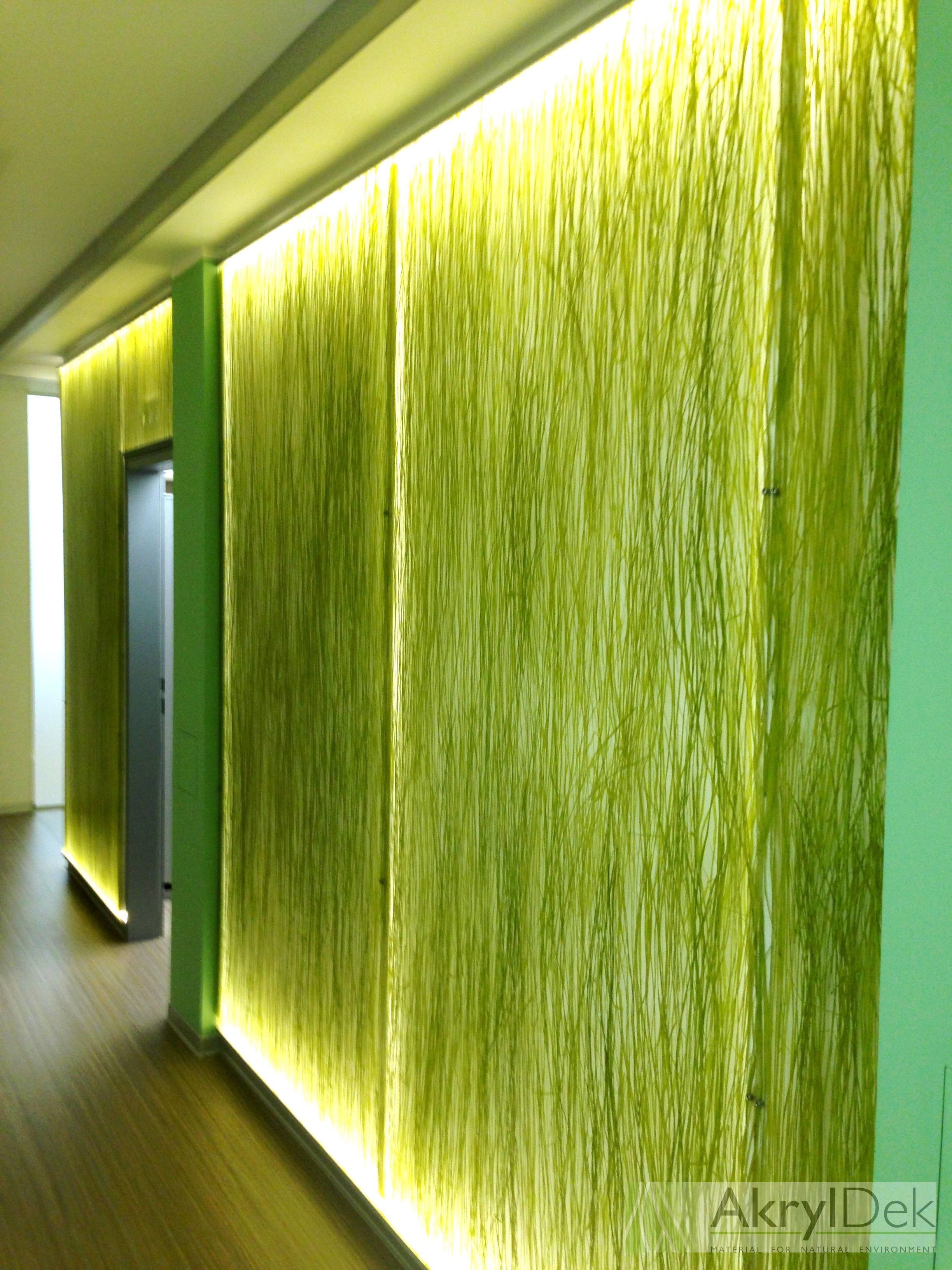Wall Panel Decoration With Organic Grass #Wall #Panels #Decoration #Design
