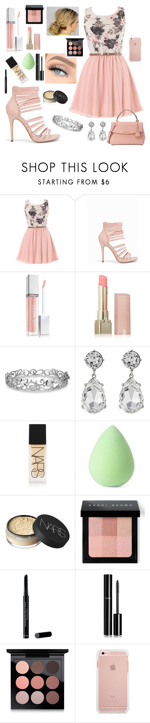 """""""Untitled #63"""" by hannahbethhill ❤ liked on Polyvore featuring New Look, Lise Watier, L'Oréal Paris, Effy Jewelry, Kenneth Jay Lane, NARS Cosmetics, Earth Therapeutics, Bobbi Brown Cosmetics, Christian Dior and Chanel"""