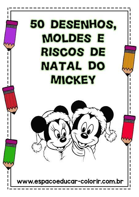 Livro De Colorir Natal Do Mickey Gratis Em Pdf Para Baixar 50