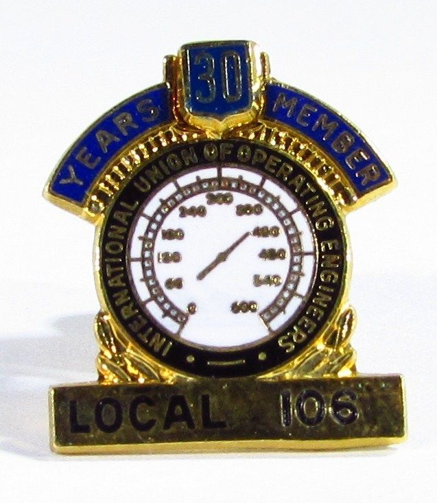 Local 106 International Union Of Operating Engineers 30 Year