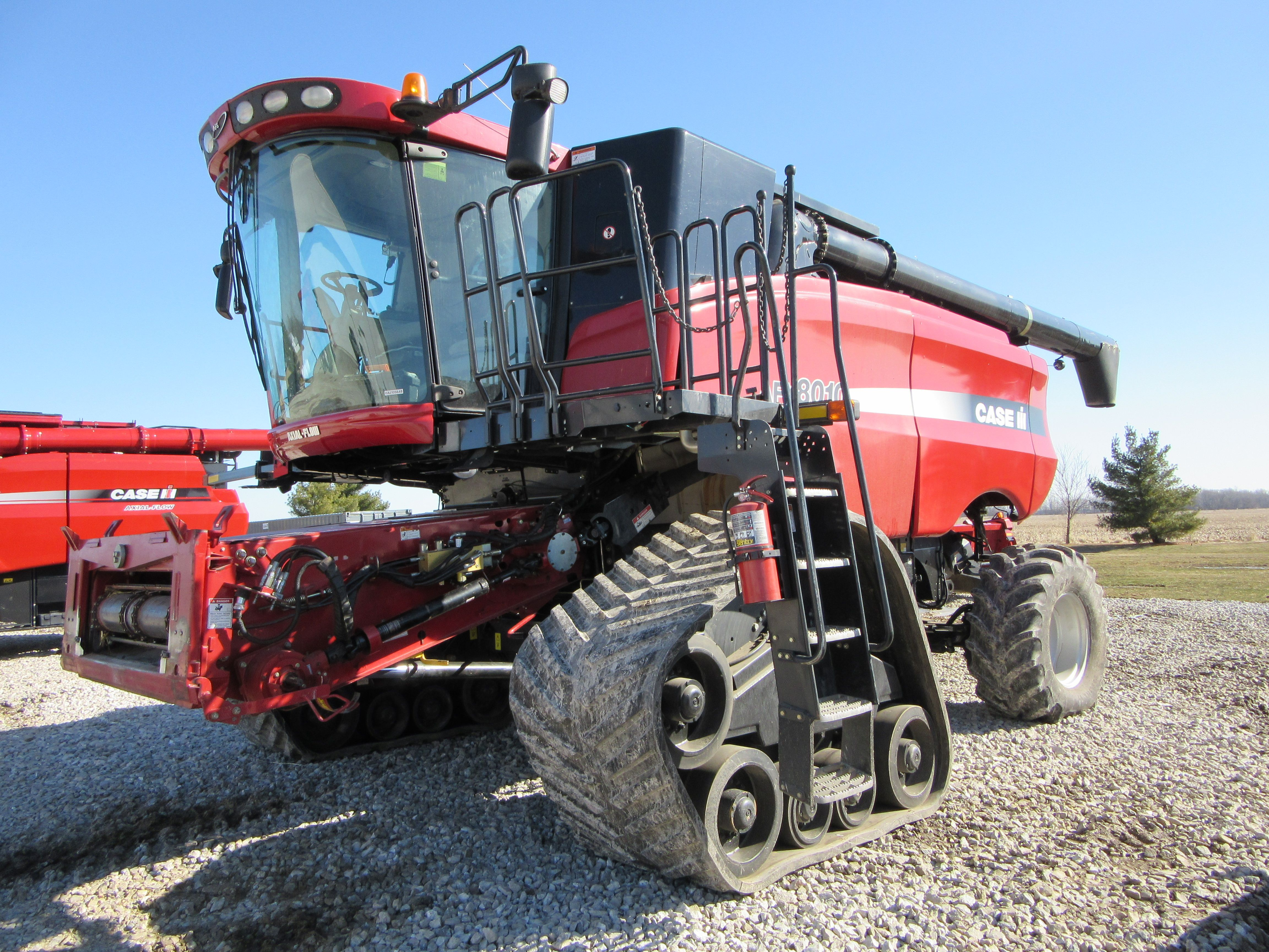 Caseih Afx8010 Axial Flow On Tracks American Farming