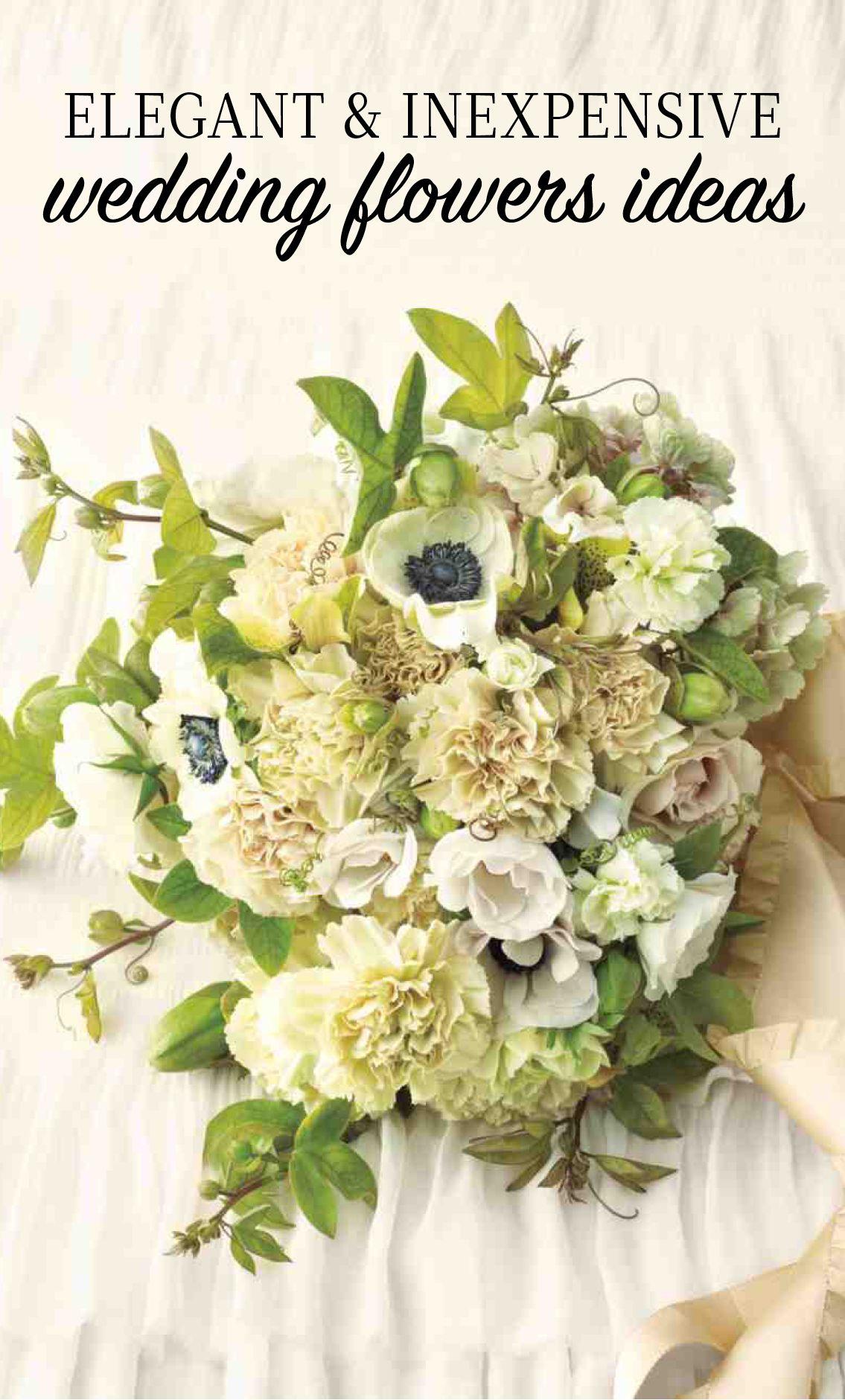 Carnation Wedding Ideas Martha Stewart Weddings Flowers