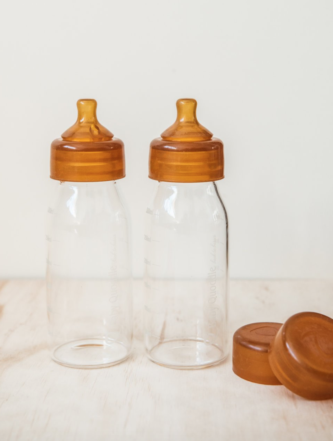 Abel Series Bottles Twin Pack Glass Baby Bottles Best Baby