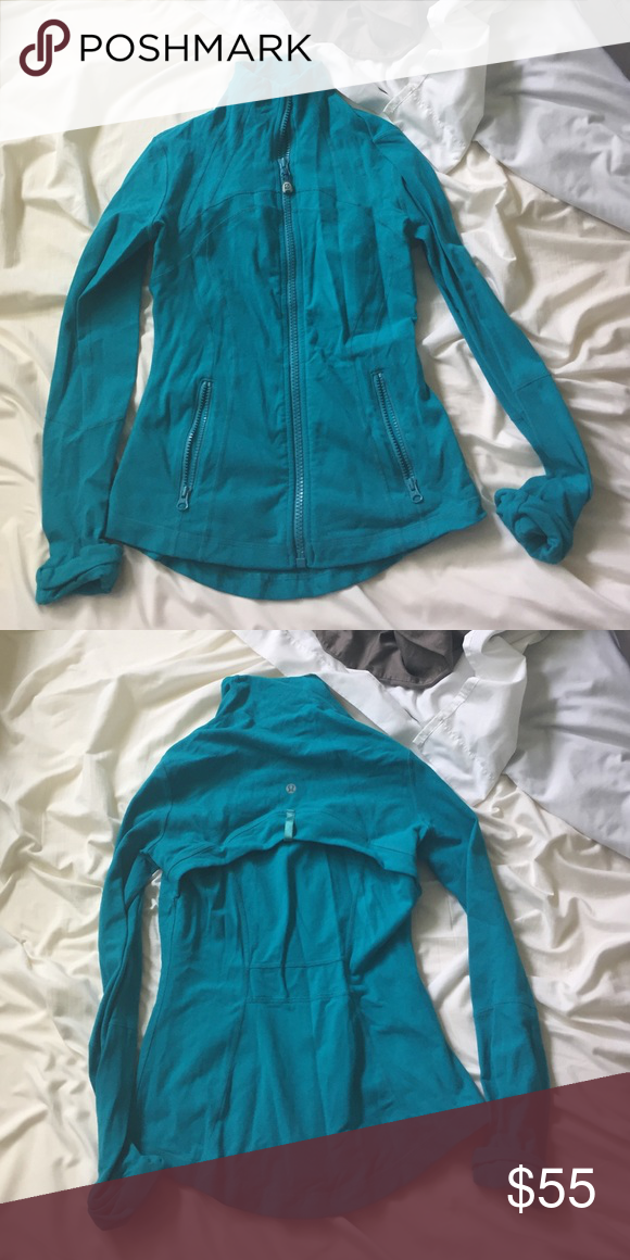 Lululemon define jacket Turquoise. Perfect for athleisure. To and from. lululemon athletica Other