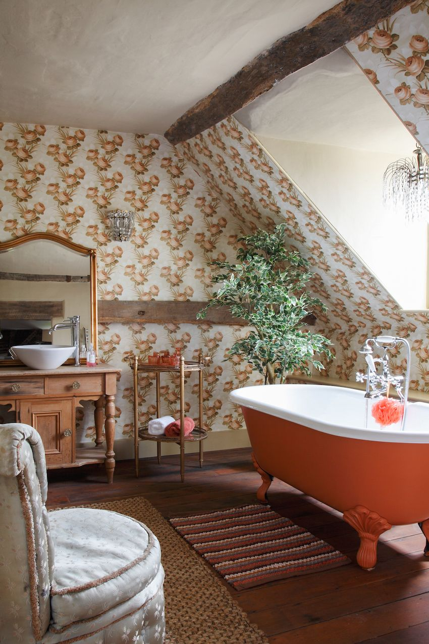 Design Sponge Bathrooms A Historic English Farmhouse Preserved With Skill And Style