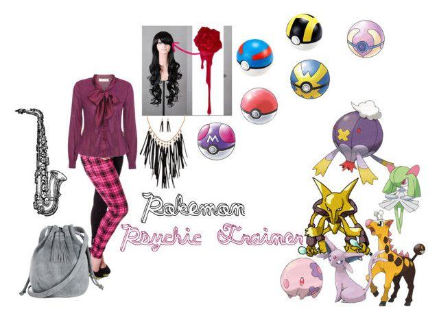 pokemon psychic trainer my polyvore finds pinterest psychics