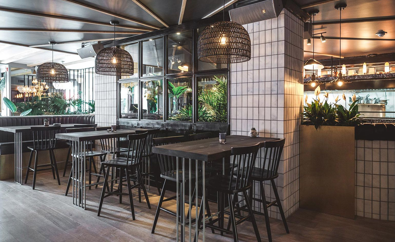 Kozu Montreal Canada Restaurant Interior Design Restaurant Interior Homey