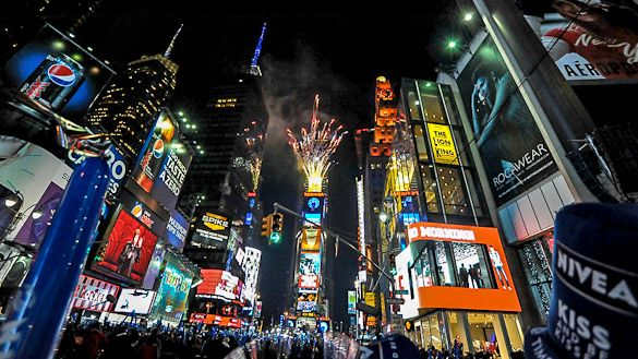 Celebrate New Year S Eve In New York London Paris Or The South