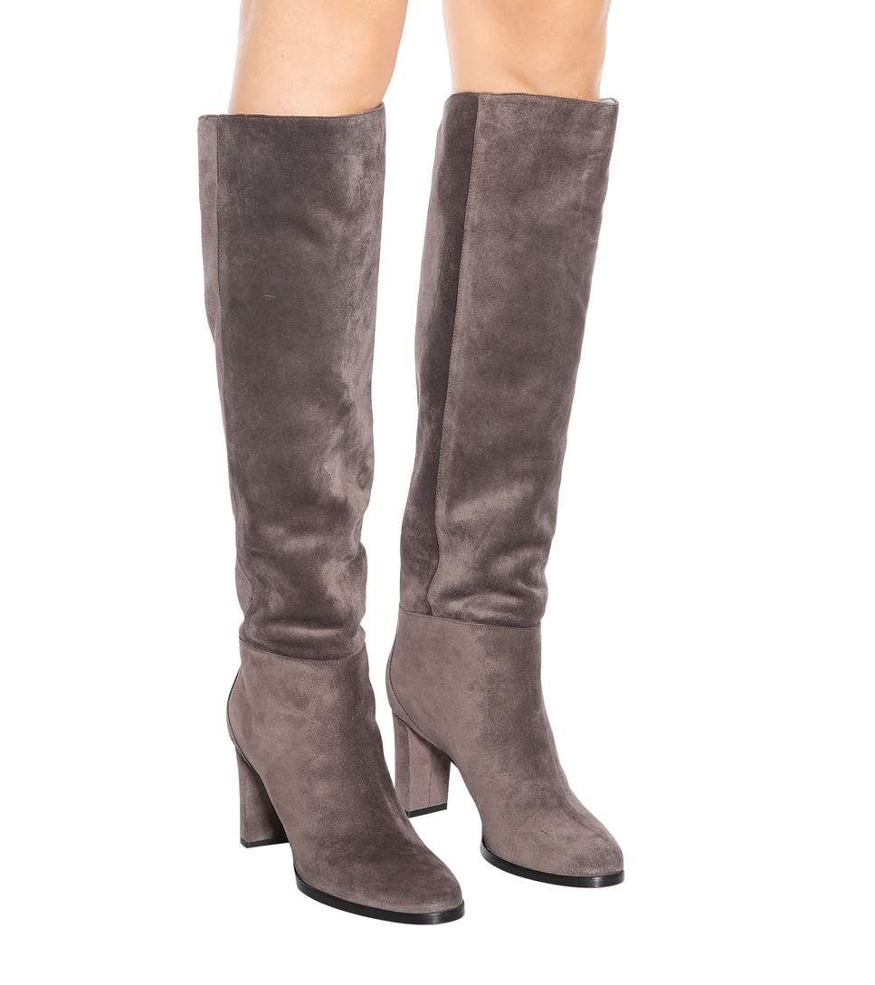 03a03f122a4 Madalie 80 Suede Boots - Jimmy Choo