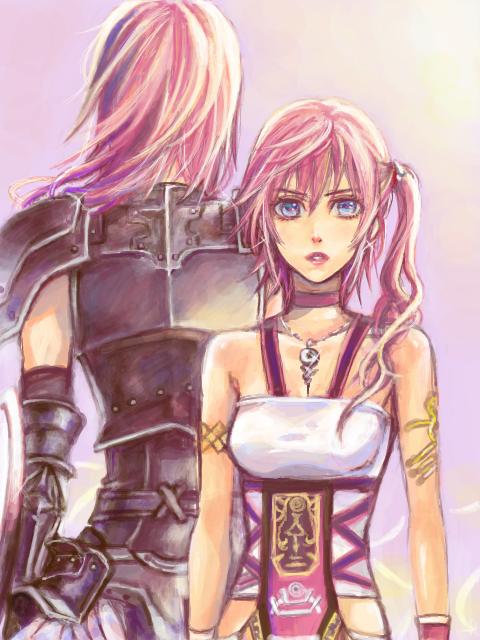 Serah And Lightning Final Fantasy 13 Xii