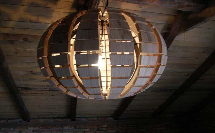 cool wooden disco ball light fixture | Decor | Pinterest | Disco ...